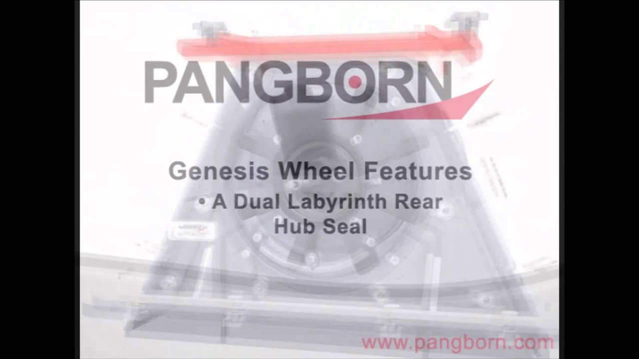 Genesis Blast Wheel from Pangborn Group - Revolutionary