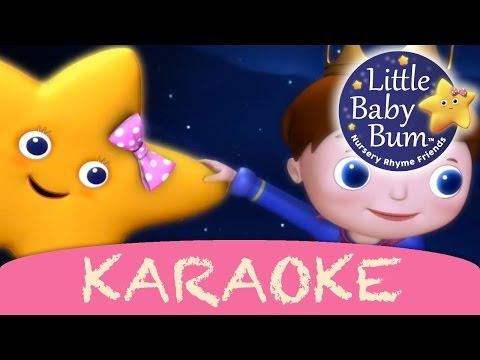 Twinkle Twinkle Little Star | Karaoke Version With Lyrics HD from LittleBabyBum!