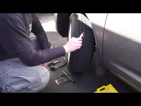 EASY Flat Tire Repair