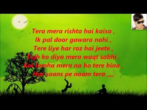 Tum Hi Ho, karaoke with Lyrics Aashiqui-2 Arijit Singh = By Arjun