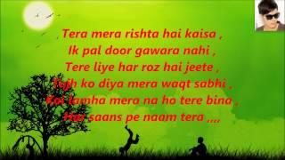 Tum Hi Ho, karaoke with Lyrics Aashiqui-2 Arijit Singh=By Arjun