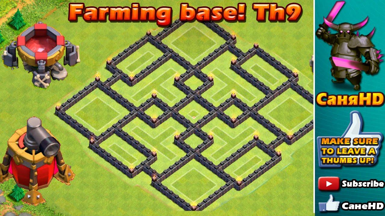 Anti Everything Th9 Best Farming Base 9