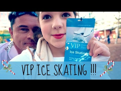 Fun Family Day ice skating | VIP in Houston