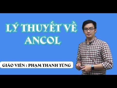 Lý thuyết về ancol – Thầy giáo: Phạm Thanh Tùng  (Hóa 11)