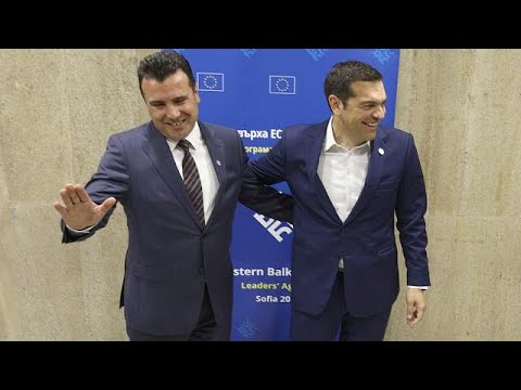 Greece agrees to recognise neighbour as