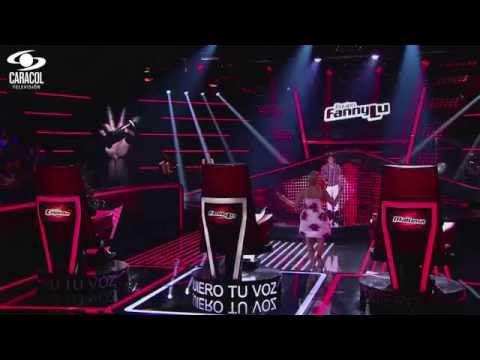 Luis Eduardo cantó 'Darte un beso' de  Prince Royce - LVK Colombia- Audiciones a ciegas - T1 Videos De Viajes