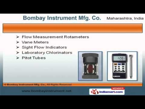 Industrial Measuring Instruments by Bombay Instrument Mfg. Co., Mumbai