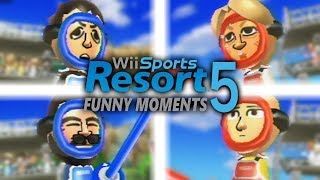 SWORDPLAY TOURNAMENT - Wii Sports Resort Funny Moments (Part 5)