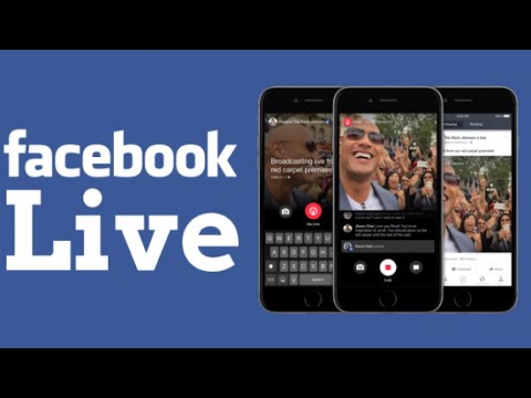 How to live streaming on Facebook?
