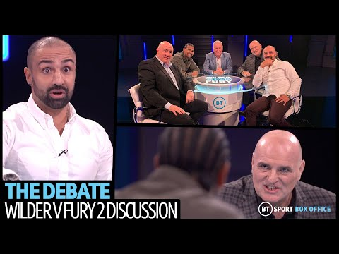 Wilder V Fury 2: The Debate Full Episode | John Fury, David Haye And Paulie Malignaggi Have It Out