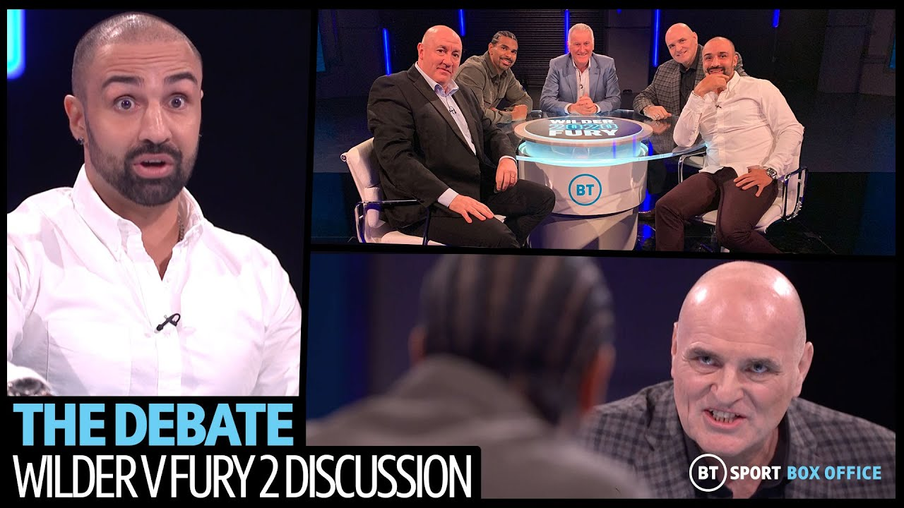 Wilder v Fury 2: The Debate full episode | John Fury, David Haye and Paulie Malignaggi have it out M
