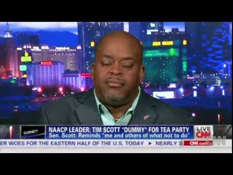 Niger Innis takes on NAACP Leader for calling Sen Tim Scott a ventriloquist dummy 01212014