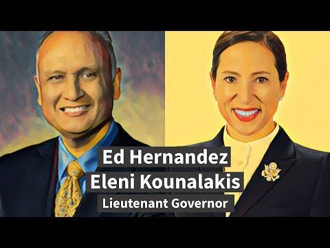 Ed Hernandez, Eleni Kounalakis on the issues facing California's next Lieutenant Governor