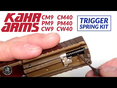KAHR CM9, CM40, PM9, PM40, CW9 and CW40 Trigger Spring Kit for KAHR CM9 Accessories by M*CARBO