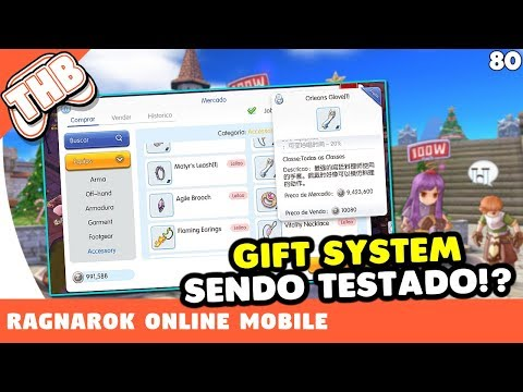 Ragnarok Online Mobile - Sistema de Gift (Trade) sendo testado no cbt!