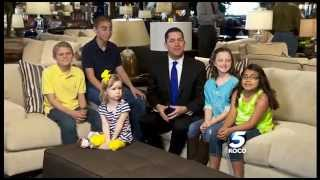 KOCO TV & Mathis Brothers Furniture Blood Drive - 2014