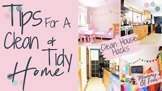 HOW TO KEEP YOUR HOUSE CLEAN WITH KIDS | CLEAN HOME HACKS | TIDY HOUSE HABITS | CLEAN WITH ME UK