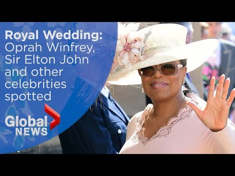 Royal Wedding: Oprah Winfrey, Sir Elton John among celebrity guest list