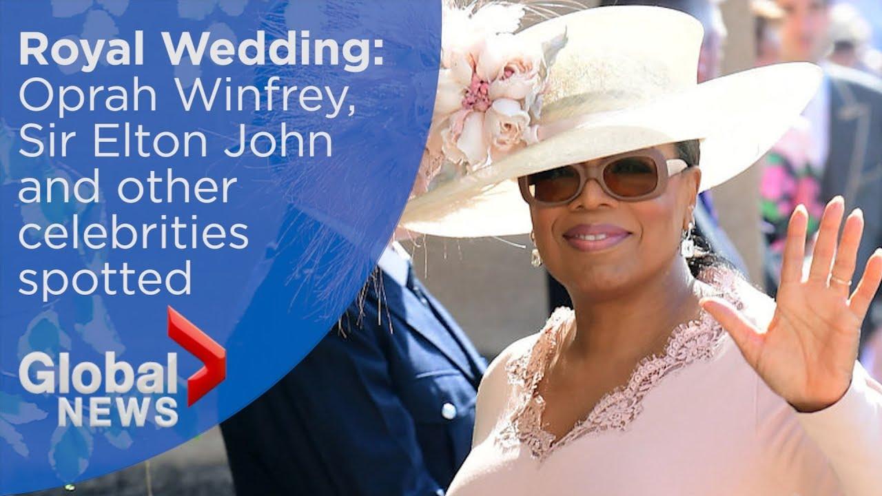 Oprah Winfrey Royal Wedding.Royal Wedding Oprah Winfrey Sir Elton John Among Celebrity Guest List