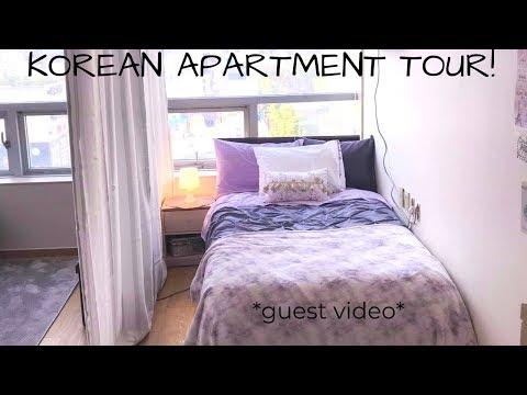PURPLE APARTMENT TOUR | Busan, South Korea