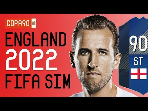 FIFA 18 SIM- England World Cup Squad 2022 | Ep. 2  ft. Rich Leigh