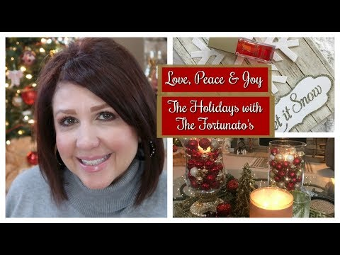 Karen's Vlog: Love, Peace & Joy - The Holidays with The Fortunato's!