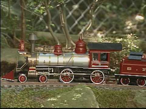 Bachmann Spectrum 1:20.3 Large Scale 4-4-0 American Steam Locomotive Part 1