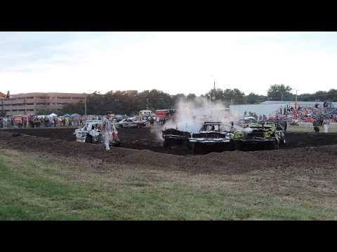 DuPage County Fair Demolition Derby Final Heat