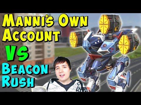 Manni&39;s Own War Robots Account Vs Beacon Rush Champs WR