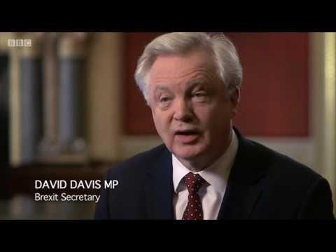 David Davis MP appears on Brexit: Britain