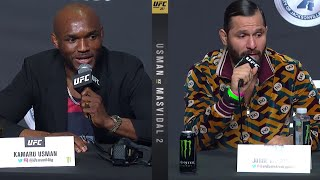 UFC 261: Pre-fight Press Conference Highlights