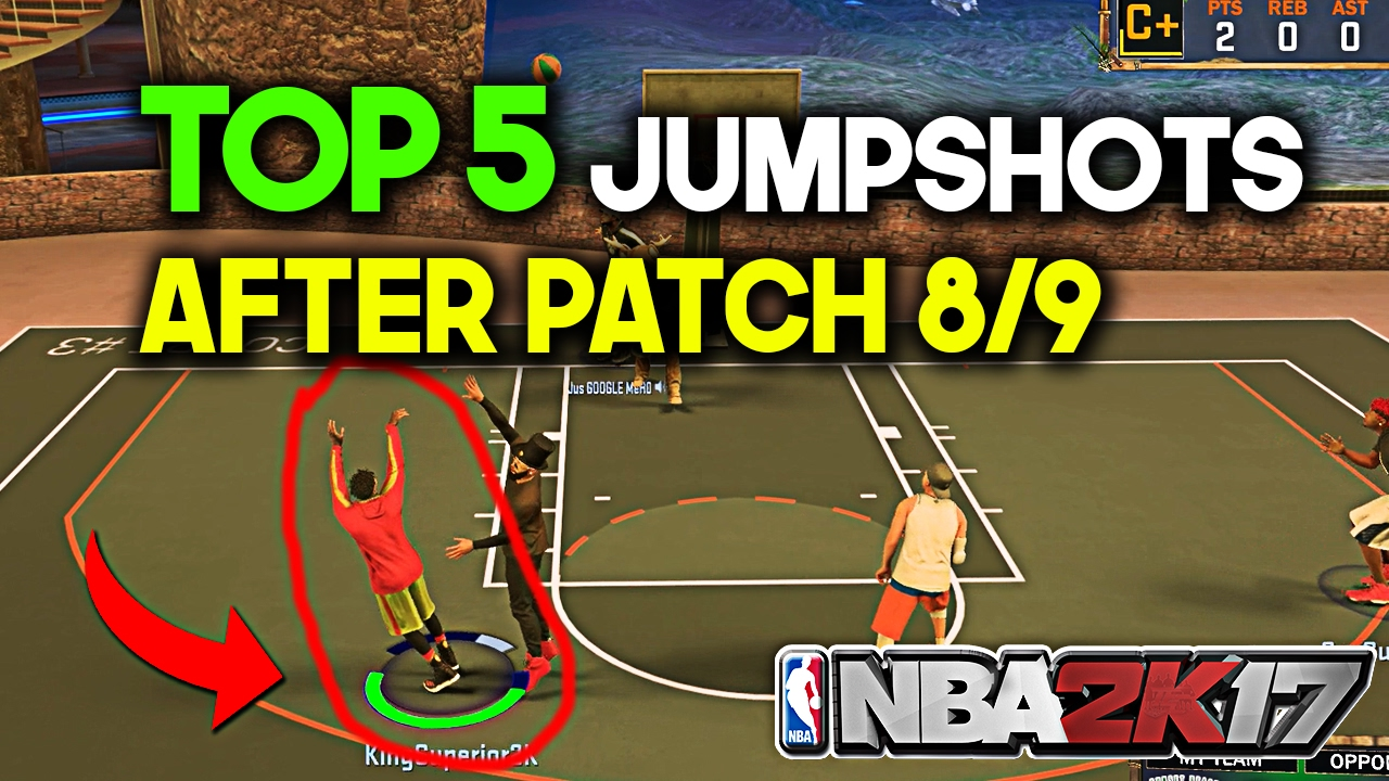 how to make your own shot in nba 2k17