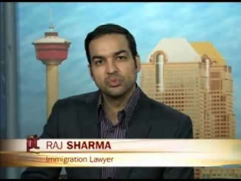 Calgary Immigration Lawyer Raj Sharma discusses Canada's Immigration Policy on Alberta Primetime