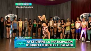 Este es el show - Candela Ruggeri, elegida para formar parte del Bailando 2015