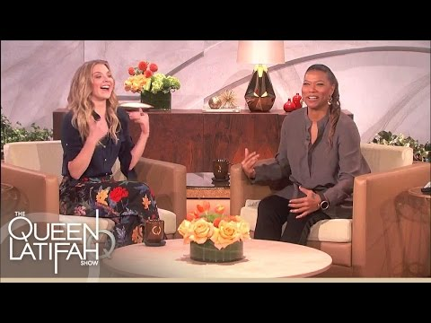 Natalie Dormer Bumps Into The Queen | The Queen Latifah Show