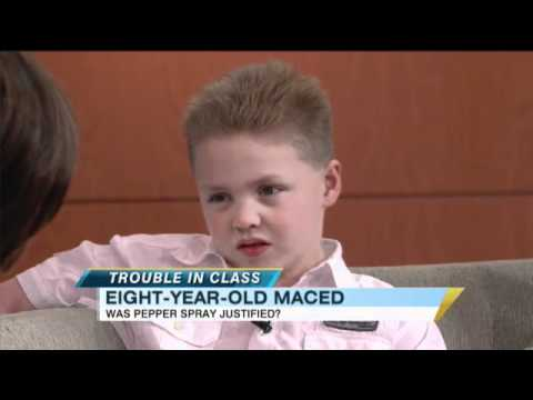 Pepper Sprayed 8-Year-Old Boy Speaks Out...