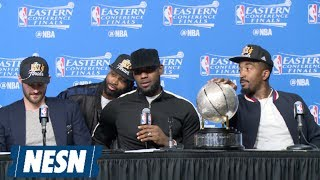 LeBron: The Warriors 'Cause A Lot Of Stress'