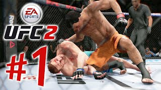EA SPORTS UFC 2 - Parte 1: The Ultimate Fighter! [ Playstation 4 - Playthrough PT-BR ]