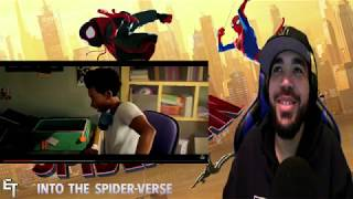Miles Morales Puberty Scene | Spider-Man: Into The Spider-Verse REACTION!