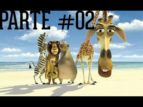 MADAGASCAR - #02 - FUGA DA ALCATRAZOO
