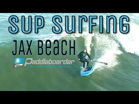 Surfing Jacksonville Beach Florida  | Full Time Rv Living