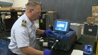 Coast Guard drug detection demonstration