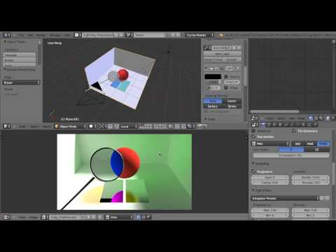 Using Blender's Light Path Node for Cycles