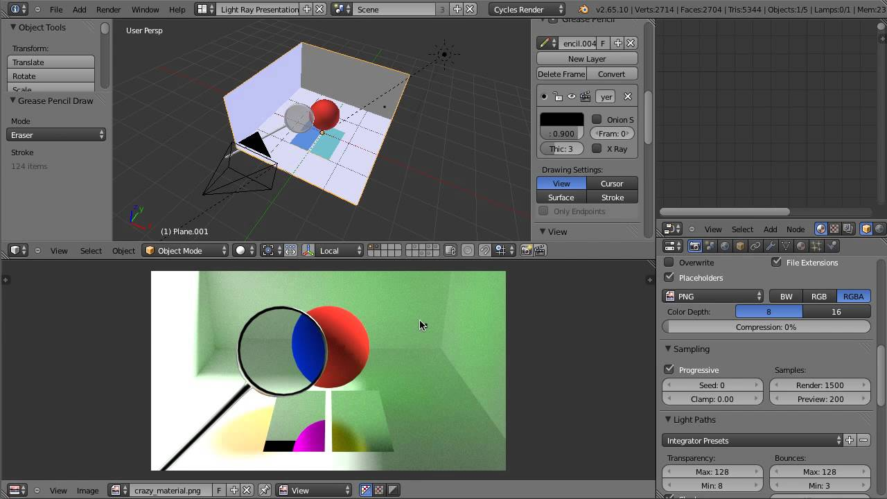 Using Blender's Light Path Node for Cycles - YouTube