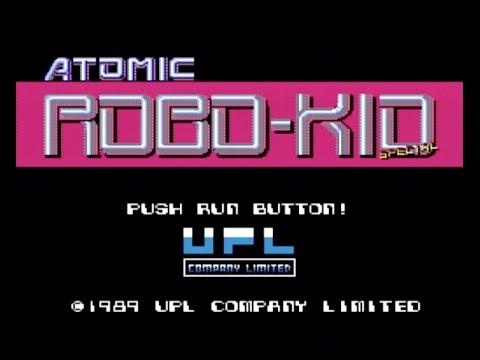 Mega Drive Longplay [399] Atomic Robo-Kid