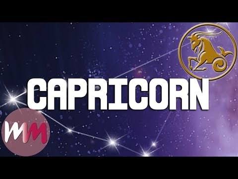 Top 5 Signs You're A TRUE Capricorn