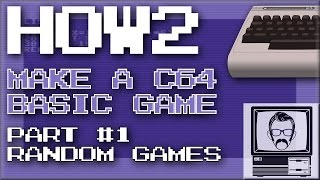 How to Make a C64 Game in BASIC Ep.1 [HOW2] | Nostalgia Nerd