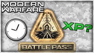 Modern Warfare: Battle Pass Earn Rate Explained