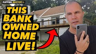 Watch Me Make An Offer On A Bank Owned Home LIVE