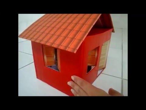 Casa dos sonhos feita com caixa de papel o youtube - Casas embargadas la caixa ...